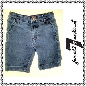 {7 For All Mankind} kids denim blue jeans, sz 2T